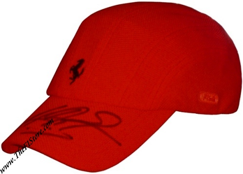 Michael Schumacher signed Ferrari Cap Fila Cool Max. US 249.99 76cc12e5949