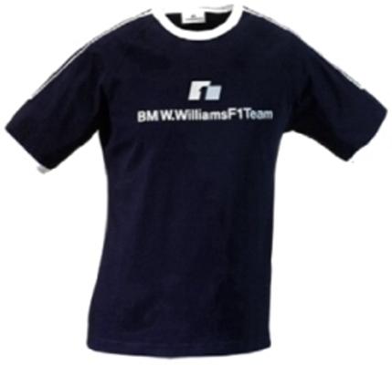 b8d02839614 BMW Williams F1 Team Logo T-Shirt