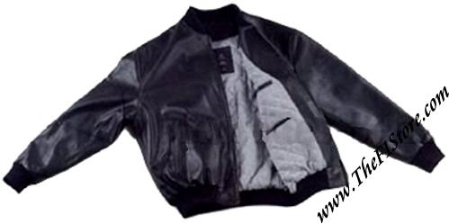 Mercedes benz motorsport leather bomber jacket for Mercedes benz leather jacket