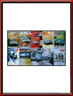 Set of 10 original Mille Miglia Posters 1994 - 2007
