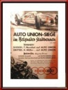 1939 Auto Union GP of Belgrade Victory Poster Reproduction