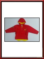 Ferrari Anorak in Kids Sizes